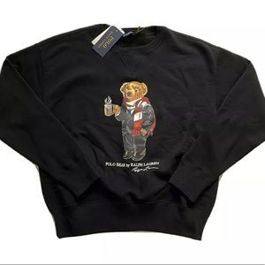 Polo Ralph Lauren Cocoa Bear Crewneck Sweater